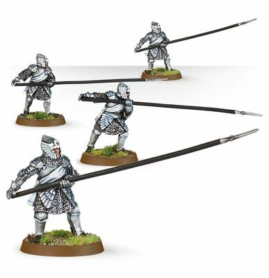 Warhammer Men-at-Arms of Dol Amroth the Lord of the Rings resin new