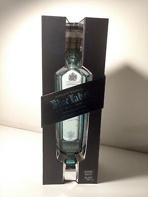 JOHNNIE WALKER Blue Label Limited Edition Design Empty Bottle With Case