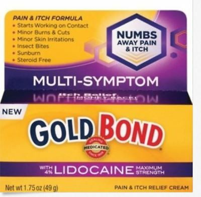 NEW GOLD BOND Pain and Itch Relief Cream with Lidocaine