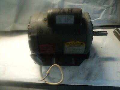 "Baldor 1/2 HP 115/230 VAC 3450 RPM 5/8"" SHAFT  SINGLE PHASE MOTOR"