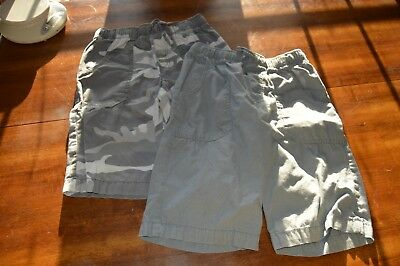 Old Navy Two pair of Boys size Large Full elastic waist Pull on Shorts
