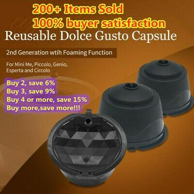 Coffee Capsules Pods Refillable Coffee Filter Cup For Dolce Gusto/Nescafe