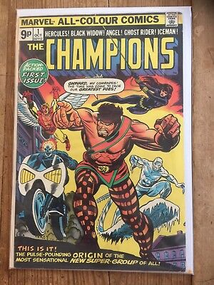 The champions 1 VG+ Condition Comic