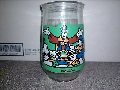 Disney Video Favs THE SPIRIT OF MICKEY #2 Welch's Jelly Jar Juice Glass FRIENDS