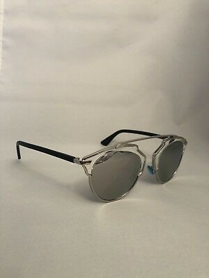 e0df1b49d906ff Christian Dior SO REAL palladium black grey silver mirror (APP DC)  Sunglasses