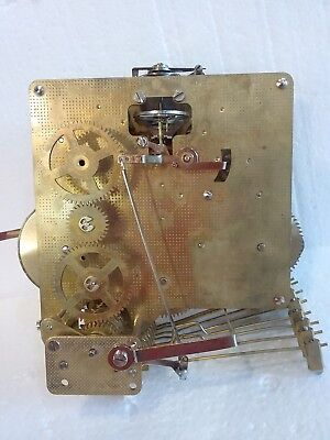 Vintage Franz Hermle West Germany Clock Movements For Parts or Repair