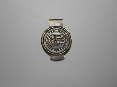 Ford owners money clip ford money clip ford script money clip brass money clip