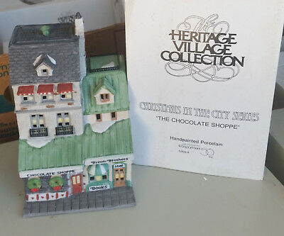 """Dept 56 Heritage Village Collection """"Chocolate Shoppe"""""""