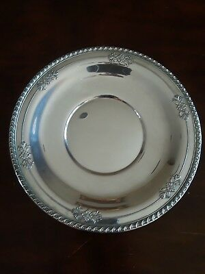 Wallace Sterling Silver Sandwhich Plate 225, 234 GRAMS