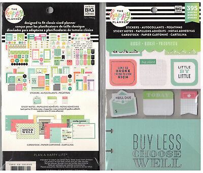 MAMBI Create365 The Happy Planner - ACCESSORIES KIT BUDGET 395 pc