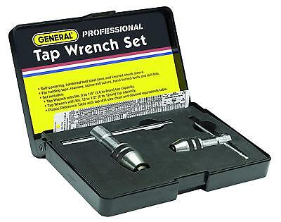 General Tools 167 Professional Tap Wrench Set