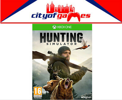 Hunting Simulator Xbox One Game New & Sealed