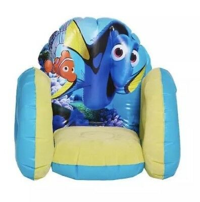 Finding Dory Flocked Inflatable Chair BNIB