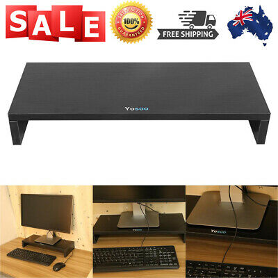 1Layer Wood Monitor Stand Raiser LCD Computer Monitor Riser Desk Display Bracket