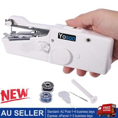 Multi-function Portable Mini Handheld Cordless Sewing Machine Stitch Home Clothe