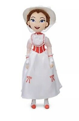 Disney Store Mary Poppins Jolly Holiday Soft Toy Doll- New With tags
