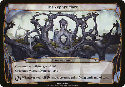 The Zephyr Maze Planechase 2012 NM Common MAGIC THE GATHERING CARD ABUGames