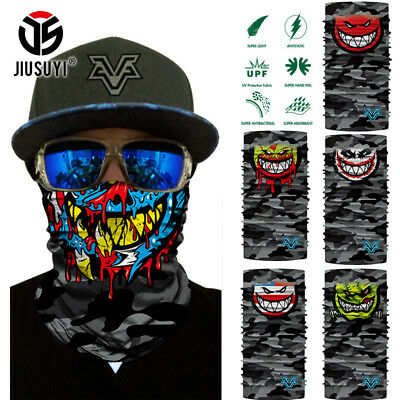 Ghost Motorcycle Cycling Snowboard Scarf Neck Warmer Face Mask Balaclava Bandana
