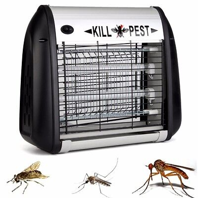 Electronic UV Mosquito Killer Insect Fly Pest Bug Control Hanging Lamp Light AU