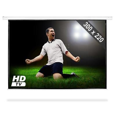 PROJECTOR SCREEN LCD DLP DISPLAY 150 inch 300 X 220 CM HOME THEATRE 4:3