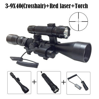 Tactical Rifle Scope Laser Holographic Green/ Red Dot Sight Illuminated Rectile