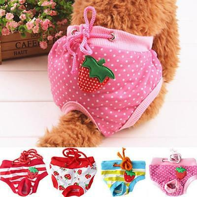 Pet  Physiological Pants Diaper Panties Underwear for Female Dog Washable