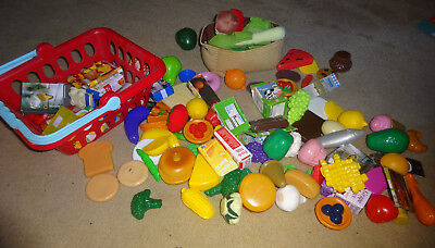 Large lot of ELC/Ikea/Other Play food and packages for play cooking/shops etc