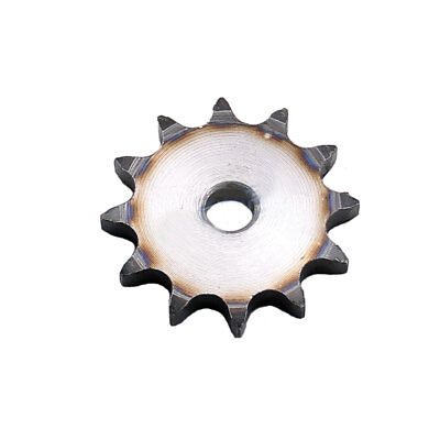 "08B #40 Flat Chain Drive Sprocket 10T-13T Pitch 1/2"" For #40 Roller Chain"