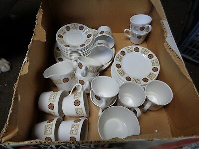 royal vale china tea and cake set plates cups jug 39 piece
