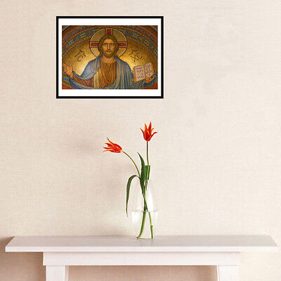 Jesus Christ Canvas Art Painting Poster Living Room Picture Wall Home Decor Gift