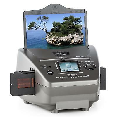 Oneconcept Combo Film Photo Slide Scanner 3 Size Pictures Usb Sd Cd 14Mp Camera