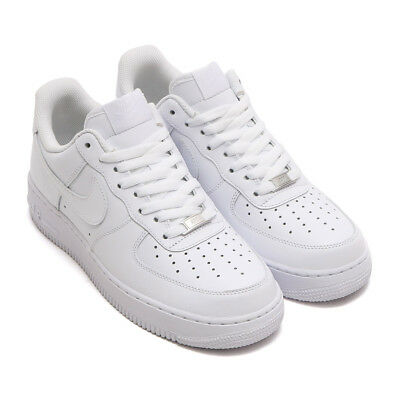 low priced 0f7a5 197be Scarpe Nike Air Force1 07 315122 111 Uomo Bianco Basse Pelle Calzature  Sportive