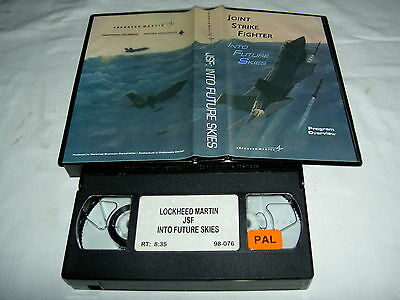 """US-AIR FORCE VHS-VIDEO """"JOINT STRIKE FIGHTER"""", (1998), (8Min.)"""