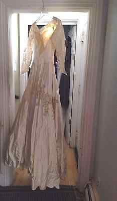 Vintage Wedding Gown, Maria Pandora