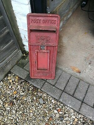 royal mail Ell cast iron front original