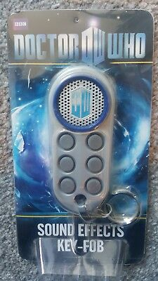 Doctor Who Sound Effects Key  Fob BRAND NEW