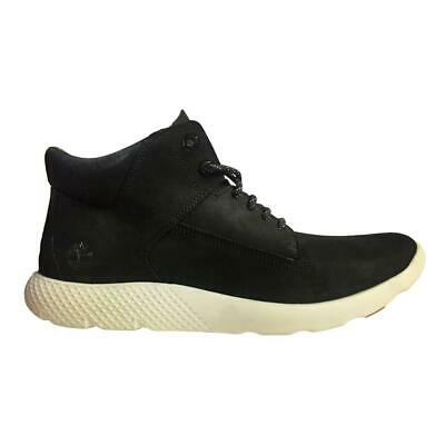 f2a26abc7a0a0 MENS TIMBERLAND FLYROAM LEATHER MID Black Trainers Boots A1Q98 - EUR ...