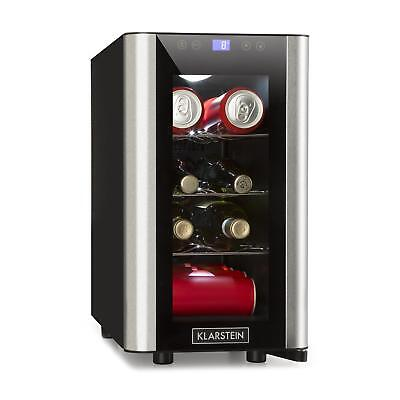 Wine Cooler Drinks chiller Mini Fridge Refrigerator 24l 8 Bottles LED Touch New