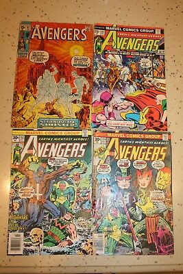 Silver and Bronze Age AVENGERS comics lot
