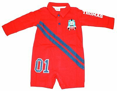 50 x Thomas and Friends Red Playsuits (Size 3-6 Months) (RRP £9.99 each)