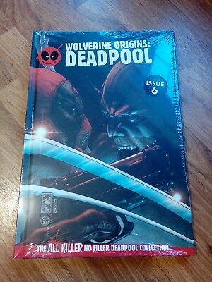 The All Killer No Filler Deadpool Collection Issue 6 Graphic Novel Book Unread