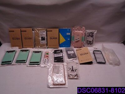 Qty = 18 Pieces: Mix Lot Cell Phone Cases, Screen Covers, Smart Watch Band