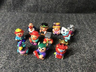 Mixed Lot of Ferrero Kinder Surprise Ball Head & Body Pose-able Figures/Animals
