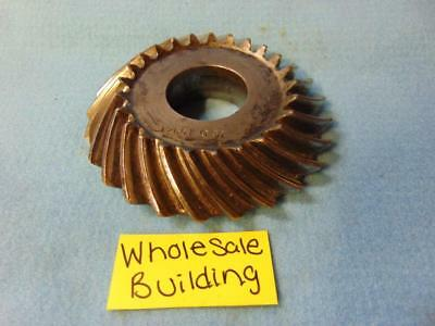"Spiral Bevel Gear, 12661 B9, 25 Teeth, 1-5/8"" Bore, Left Hand, 5/8"" Pitch"