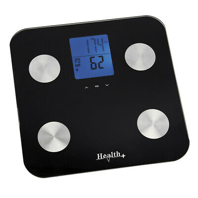 Digital Bathroom Body Fat Scale Scales Gym Weight Water Glass LCD Electroni S1K8