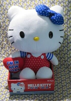 Hello Kitty by Sanrio Plush Doll/I'm in NY/New in original packaging