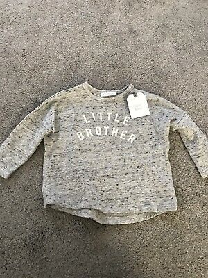 Next Baby Brother Top 0-3 Months BNWT
