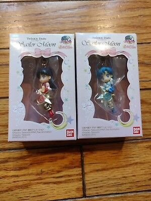 Sailor Moon Twinkle Dolly Set Mercury Mars Bandai New Japan Kawaii