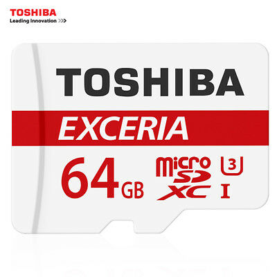 64GB Toshiba EXCERIA  Micro SD memory card class 10 With Adapter mobile-camera