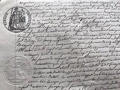 Old Document on Paper that mentions Napoleon